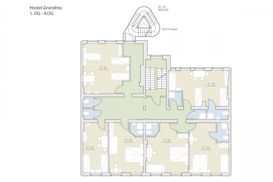 Umplanung einer gewerblichen Anlage zum Hotel