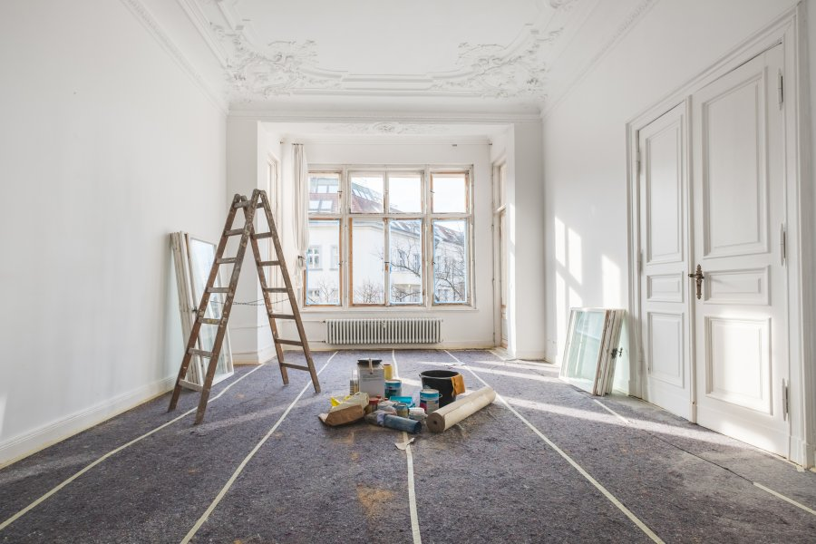 Painting and interior design